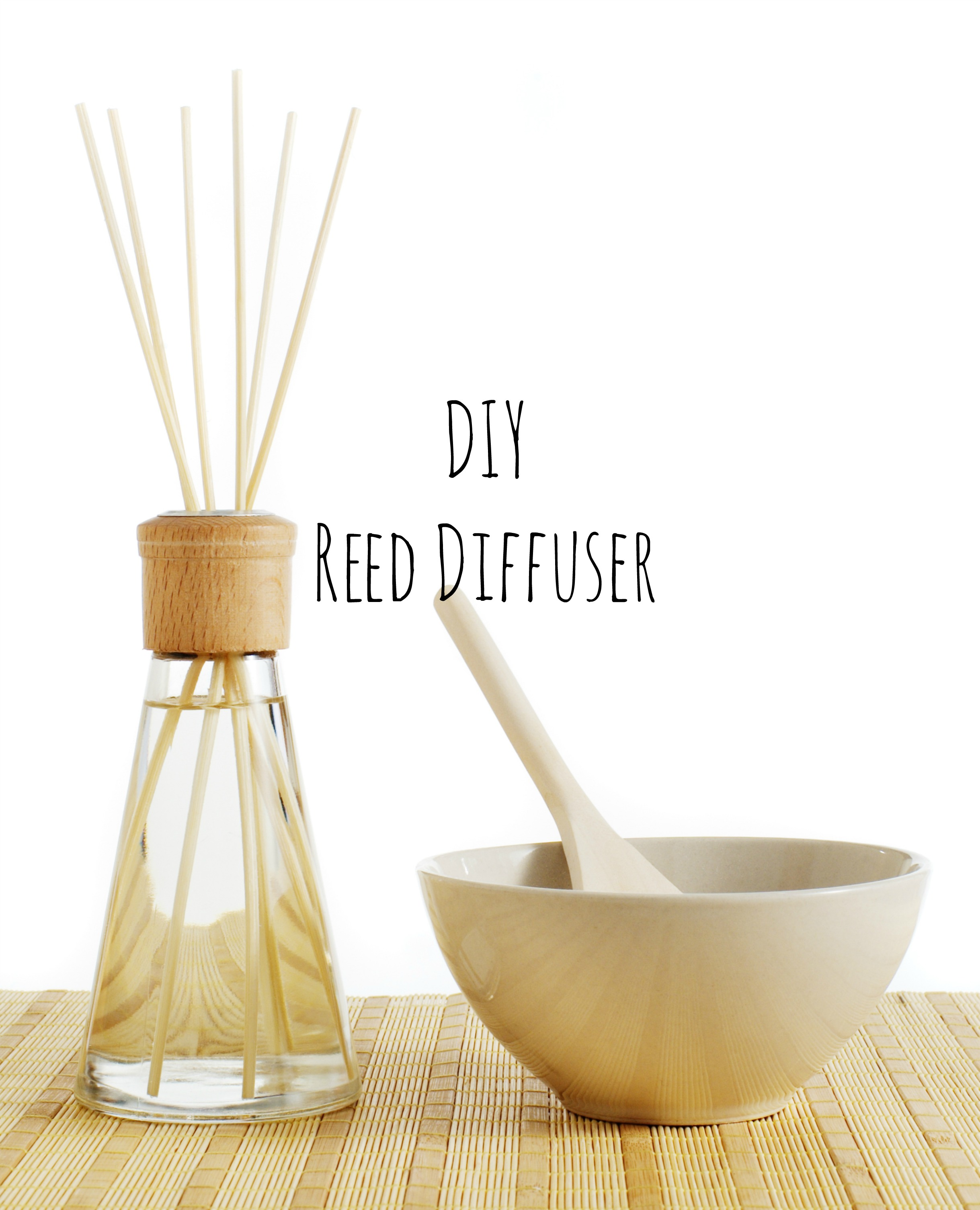 Homemade Aromatherapy Reed Diffuser Ftempo