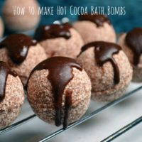 Hot Cocoa Bath Bombs