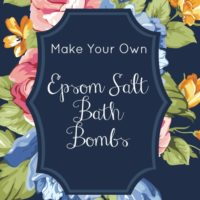 Epsom Salt Bath Bombs