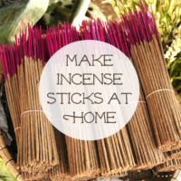Make Incense Sticks at Home