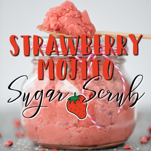 Strawberry Mojito Sugar Scrub Recipe